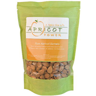 Eating apricot seeds