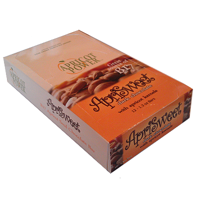 Apricot Kernel Chocolate Bars - One Box