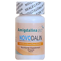 B17/Amygdalin 100 mg Capsules Novodalin