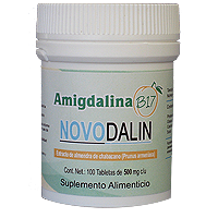 Novodalin B17/Amygdalin 500 mg Tablets