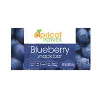 Blueberry Aprisnack Whole Food Health Bars