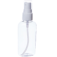 2 oz. Clear Plastic Bottle