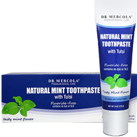 Natural Mint Toothpaste with Tulsi