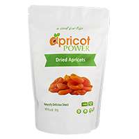 Organic Dried Apricots - 16oz