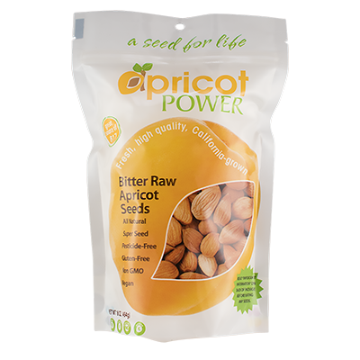 Bitter Raw Apricot Seeds, 16 oz.
