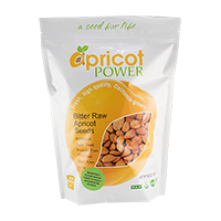 California Bitter Raw Apricot Seeds, 32 oz.