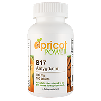 Apricot Power B17/Amygdalin 100mg Tablets