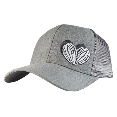 Apricot Power Trucker  Seed Cap