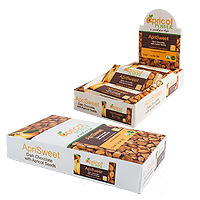 ApriSweet Chocolate Bars (box of 12)