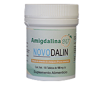 NOVODALIN B17/Amygdalin 100mg Tablets