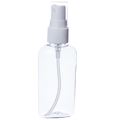 2oz. Clear Plastic Bottle