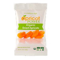 Organic Dried Apricots Sample