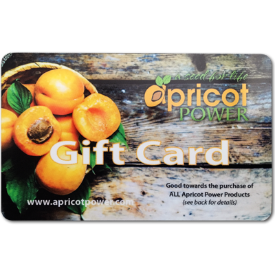 $100 Apricot Power Gift Card