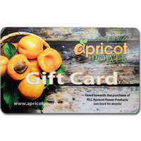 $25 Apricot Power Gift Card