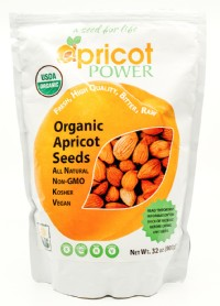 Organic Bitter Raw Apricot Seeds - 32 oz.